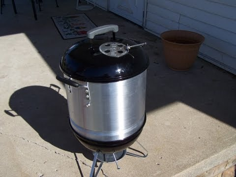 weber smokey joe mini wsm mod how to save money and do. Black Bedroom Furniture Sets. Home Design Ideas