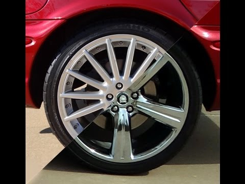 Rims Vs Wheels >> Painted BBS Jaguar Sepang vs Chrome Cremona Wheels - YouTube
