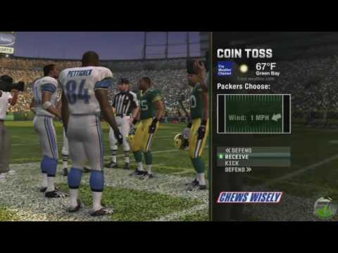 Madden Nfl 10 Packers Vs Lions Gameplay Part 1