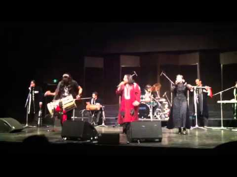 Arif lohar performing challa in perth