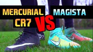 RONALDO CR7 Mercurials vs Nike Magista   Boot Test   F2Freestylers