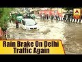 download mp3 dan video Traffic Jam And Severe Waterlogging in Delhi's Anand Parbat Area After Rainfall | ABP News