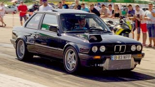 BMW Drag Racing Arad 2016 Compilation - E30 Turbo E36 Turbo M3 E46 E92 850i BiTurbo