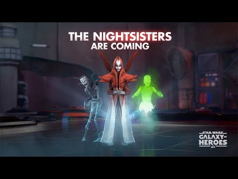 Star Wars: Galaxy of Heroes - The Nightsisters Are Coming