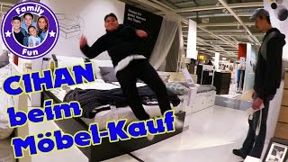 CIHANS IKEA SHOPPING HAUL | Auf Möbeljagd! | FAMILY FUN