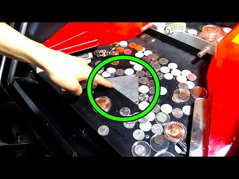Coin Pushers EXPOSED! This is Why Arcade Coin Pushers Make Money!   Arcade Experiment  