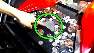 Coin Pushers EXPOSED! This is Why Arcade Coin Pushers Make Money! | Arcade Experiment