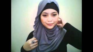 Hijab tutoriaL by dentist_nia part 3