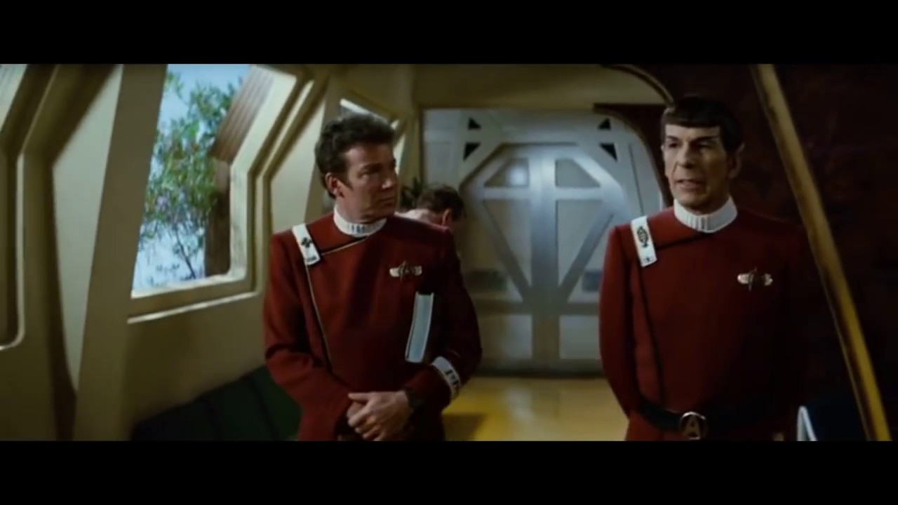 Spock Wishes Kirk A Happy Birthday YouTube