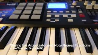 How to setup AKAI MPK to Pro Tools