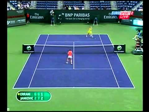 Jelena Jankovic vs Sara Errani Indian Wells 2010 Highlights part 2
