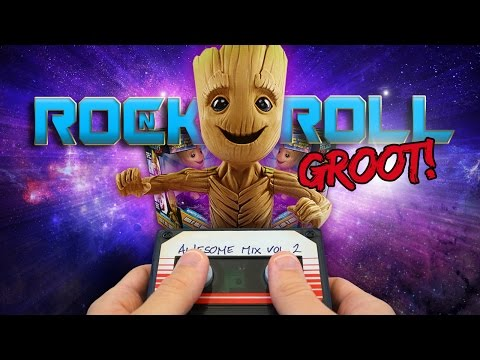 JAKKS PACIFIC'S XPV ROCK N' ROLL GROOT! | A Toy Insider Play by Play