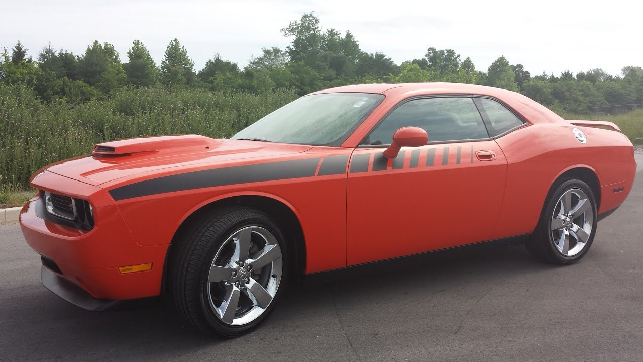 2014 orange challenger with hemi autos post