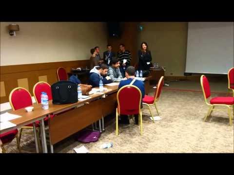Engelli Üniversite Öğrencileri İnisiyatifi Projesi drama etkinliği - ortopedik engelliler grubu