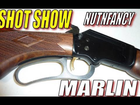 Nutnfancy SHOT Show: Marlin!