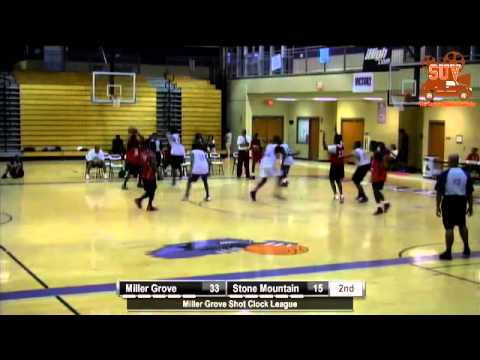 Miller Grove Shot Clock League: Miller Grove vs. Stone Mountain