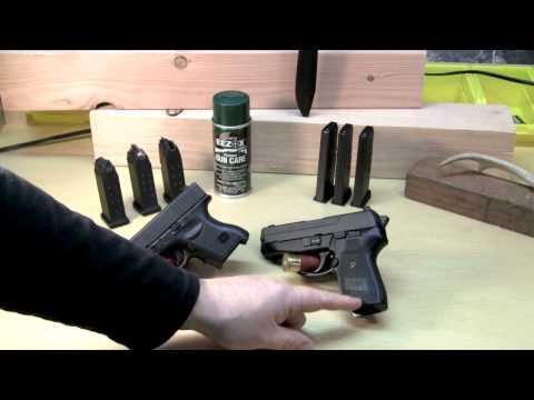 Glock 26 vs Sig Sauer P239:  best carry choice.