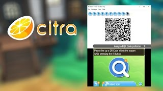 How to Scan QR Codes in Citra (Pokémon Sun & Moon Island Scan)