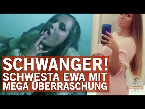 Schwesta Ewa ist im 7. Monat schwanger!