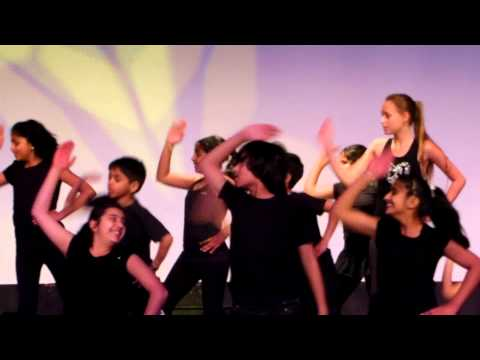 Aneesh Jaiswal - group dance on Dil Hai Chota Sa at Shaimak...