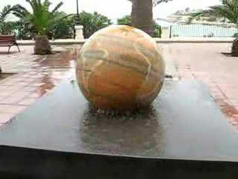Globe Fountain in St. Julian's