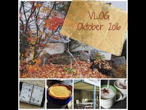 Vlog Oktober 16 ~ Kampf mit dem Kuchen | Gartenprojekt | Halloween
