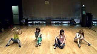 Video clip 2NE1 - &#39FALLING IN LOVE&#39 Dance Practice (안무연습)