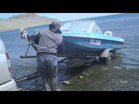 спуск на воду лодки пвх на прицепе кто
