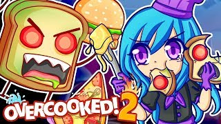 The HANGRY HOARD is taking over in Overcooked 2!