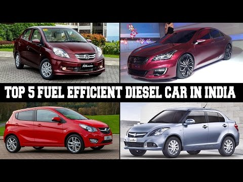 Top Five Fuel Efficient Diesel Cars In India