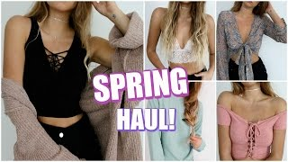 Spring Fashion Haul! // Try-On