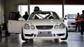 Raw Footage: Carl Thompson 4 Rotor Nitrous Turbo - Lexus GS300