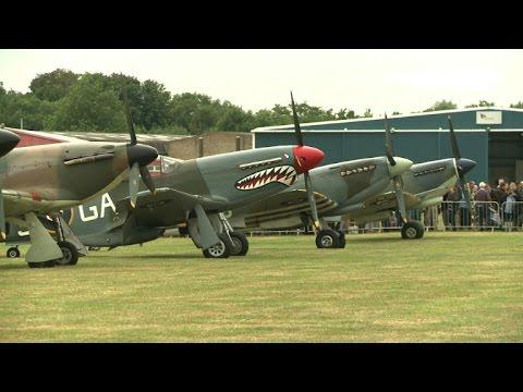 Spitfires, Hurricanes mark Battle of Britain 'Hardest Day'