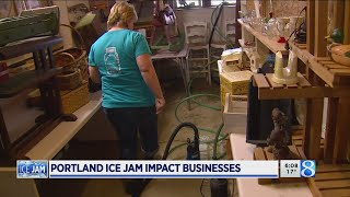 Portland businesses pledge resiliency despite flooding