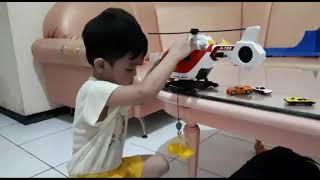 Mainan Helicopter Baru Juan Keren Banget