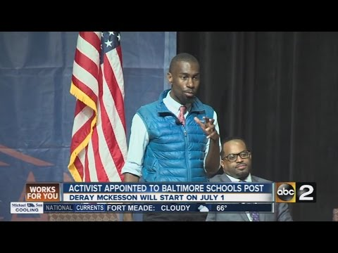 Black Lives Matter activist appointed to Baltimore city schools post
