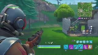The luckiest thing that happened to me in fortnite!