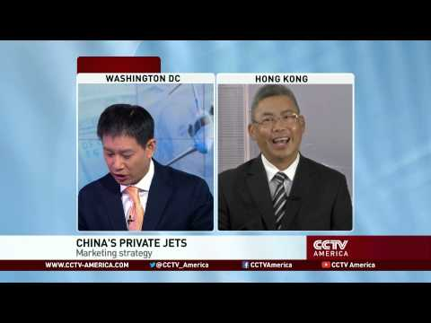 China's private jets, a changing market