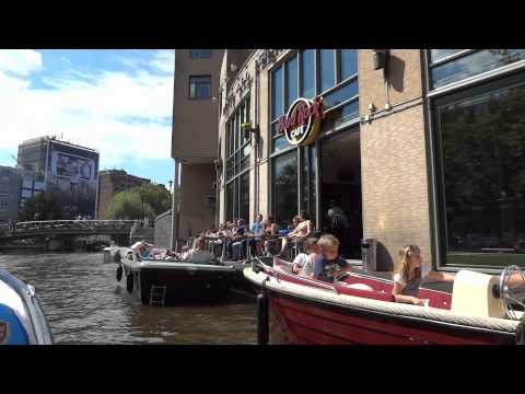 Amsterdamse grachten / Amsterdam's Canals 2012-07-22.