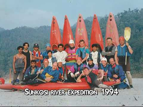 Nepal, Sun Kosi Whitewater river expedition 1994 (short version)