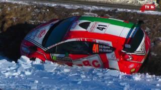 Monte Carlo 2017 - Crash - Sortie de Route G. Basso - Équipage 41 - TV16