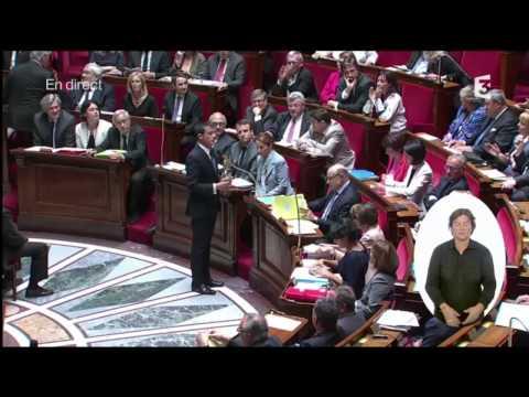 Débat tendu entre Christian Jacob et Manuel Valls sur le 49-3