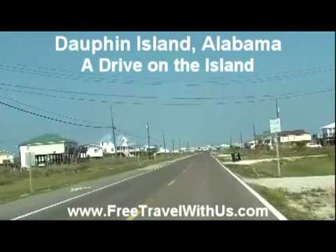 Dauphin Island, Alabama - A Drive on the Island