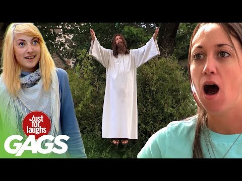 Best of Just For Laughs Gags - Defying Gravity Insane Pranks