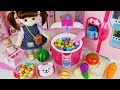 Baby doll cooker and kitchen fruit cooking food toys play house story - ToyMong TV 토이몽 download