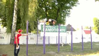 Street workout Olevsk 2015
