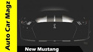 HOT NEWS  New Mustang released in 2020 with 700bhp