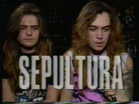 Sepultura 1990 (maybe October 1989) Headbangers Ball
