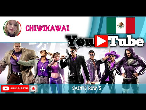 Saints Row The Third - Parche Para Desnudar Chicas 100% TUTORIAL