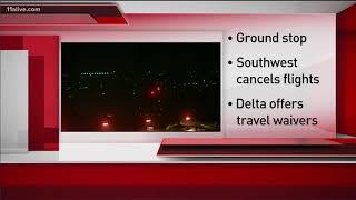 Thousands stranded at Atlanta